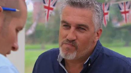 'Can you tell me about a time when you showed initiative under the icy glare of Paul Hollywood?'